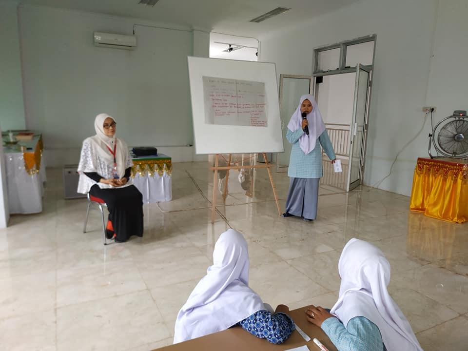 MAN 1 Aceh Utara dalam Kegiatan Belajar Bersama di Museum Islam Samudra Pasai