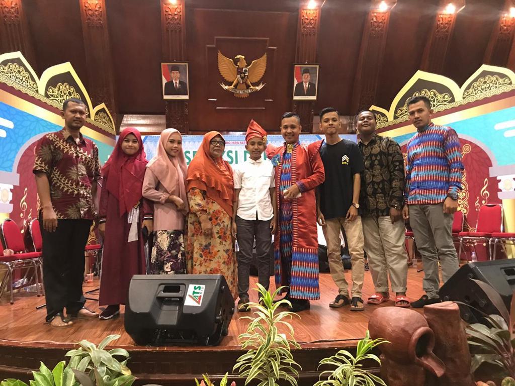 Siswa MAN 1 Aceh Utara di Festival Seni Qasidah Gambus Se- Aceh